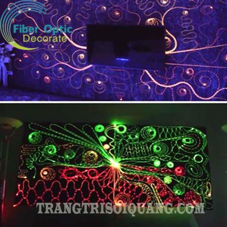 Sàn hoa văn sợi quang được tạo hình từ các sợi quang phát cạnh, mang đến vẻ đẹp độc đáo, mới lạ. Sàn hoa văn trang trí tạo điểm nhấn khác biệt cho không gian của bạn và mang đến cho không gian phòng trở nên sang trọng và hiện đại hơn.