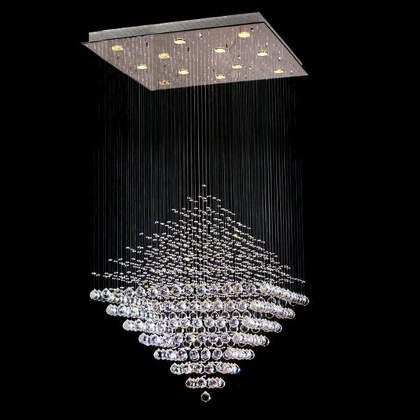 Đèn chùm pha lê sợi quang hiện nay là một trong những vật không thể thiếu trong kiến trúc nội thất. Để có không gian nội thất đẹp, thì đèn chùm pha lê góp phần rất quan trọng trong việc mang tới vẻ đẹp độc đáo, riêng cho không gian nhà bạn. Cũng như thể hiện được sự cảm nhận về tính thẩm mỹ của bạn. Hiện nay, đèn không chỉ để chiếu sáng, đèn chùm pha lê sợi quang còn là vật dụng được ưa chuộng trong trang trí không gian nội thất. Lựa chọn đèn trang trí cũng là một phần dệt nên linh hồn cho không gian của gia chủ.