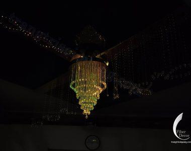 đèn chùm biệt thự